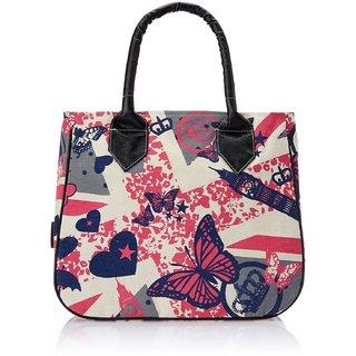 saraswathy stores Kanvas Katha Womens Handbag (Ecru colour)