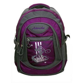 c88f9a645b1d Buy Attache Stylish School Bag (Purple Grey) Online - Get 51% Off