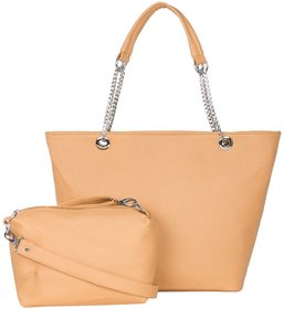 Abi Stores Ladies Casual Handbag With Sling Bag Free Or