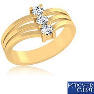 Certified 0.25ct Natural White Diamond Ring 14K Hallmarked Gold Ring LR-0257G