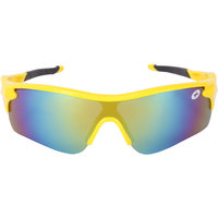 CAMERII Glossy Yellow Wrap-around Sunglasses (TT12)