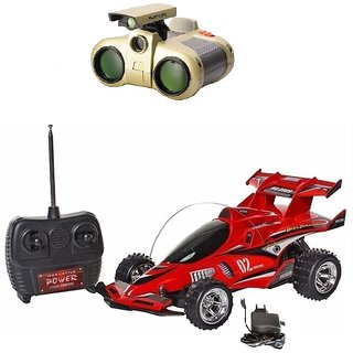 Full Remote Control chargeable gallop Car with binocular