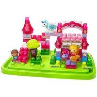 Mega Bloks First Builders Lil Princess Shimmering Palace Tub Building Kit