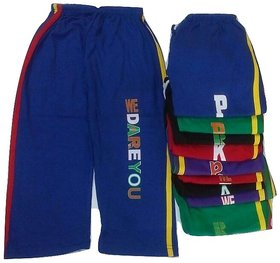 FABLOOK boys printed pants pack of 10 piece multicolour for  to 2 to 3 year