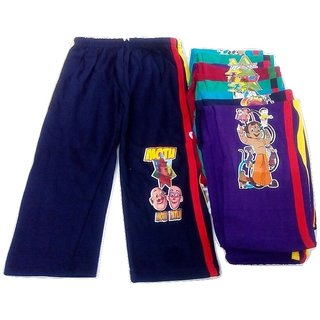 FABLOOK boys printed pants pack of 10 piece multicolour for to 4 to 6 year