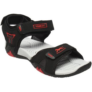 Tomcat Men's Black Velcro Floaters