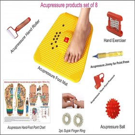 Acupressure Foot Mat With Acupressure Kit