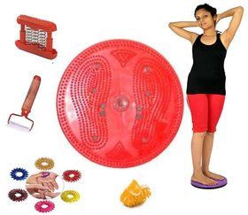 Acupressure Twister Weight Reducer With Acupressure Kit