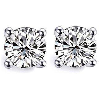 Buy Earrings For Men Boys Studs Silver Plain Piercing Bali By Bebold
