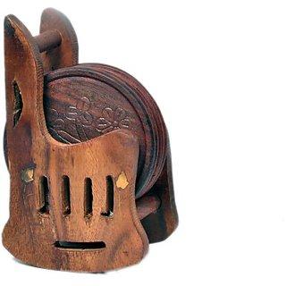 Handmade Mughal Style Traditional Coaster Set