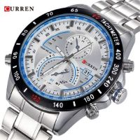 CURREN Brand Cur 40 Auto Calender Stainless Business Casual Watch For Men