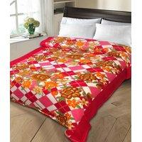 HDECORE Set of 2 Single bed blanket01PRNT01CHK HD01