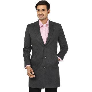 Platinum Studio Solid Casual Mens Blazer