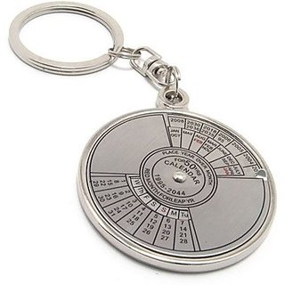 50 year calender keychain