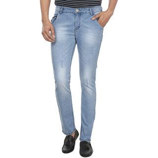 Fever Light Blue Denim Lycra Jeans