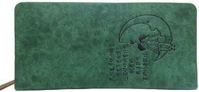 SANSHUL GREEN CASUAL LOVE ON MOON WALLET FOR WOMEN SDR-14