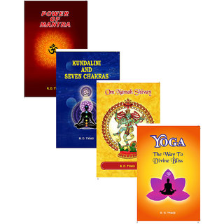 Spirtuality Books combos by R D Tyagi (Pack of 04)