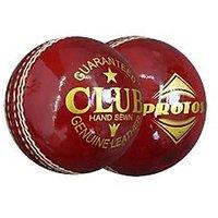 Protos Club Balls Genuine Leather Cricket Ball