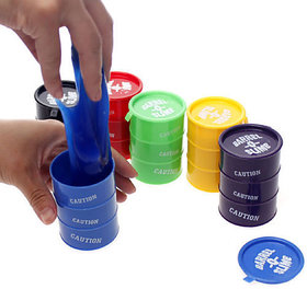 Barrel O Slime Paint Slime Practical Joke Set of 6