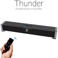 Portronics Thunder Portable Bluetooth Sound Bar Speaker ( Black)