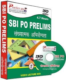 SBI PO Prelims Quantitative Aptitude Video DVD (Hindi Medium)