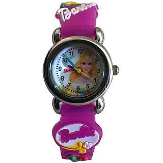 Barbie doll watch (purple colour)