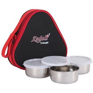 Zadoli Premium Triangle Pouch Lunch Box
