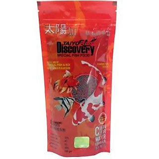 Taiyo Pluss Discovery Special Fish Food 100gms Pouch / Aquarium Purpose