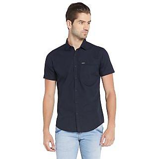 Globus MenS Navy Colored Shirt
