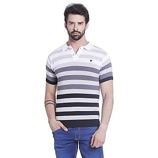 Globus MenS Multi Colored Polo T-Shirt