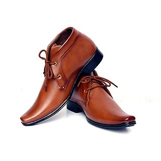 VIJAYALAKSHMI STORE Shockerrock Mans Srock58 Synthetic Leather Formal