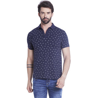 Globus MenS Navy Colored Polo T-Shirt