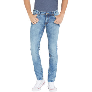 Globus MenS Blue Colored Jeans