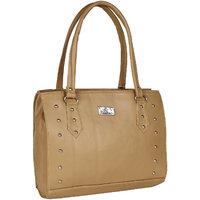 Daily Deals Online Womens Shoulder Bag (Beige) (BAG9089