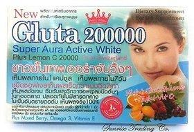Gluta 200000mg SoftGel + VIT C BERRY MIX FIBER
