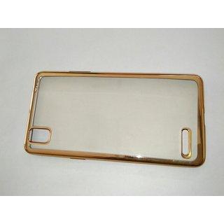 OPPO f1 selfie golden back cover