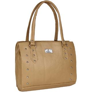 Daily Deals Online Womens Shoulder Bag (Beige) (BAG9089)