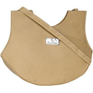 Daily Deals Online Womens Sling Bag (Tan) (BAG9094)