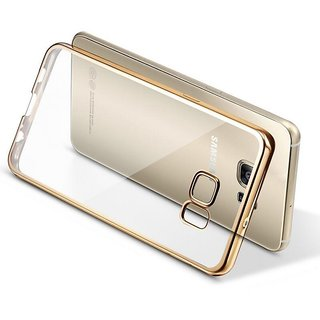 Soft Gold Plated Back Cover for Samsung Galaxy A8