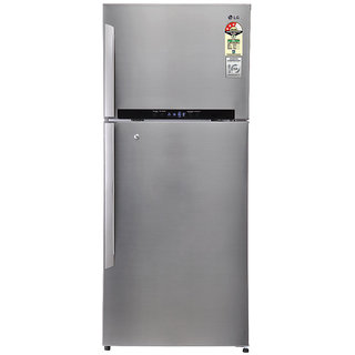 LG 546 Ltr. GN-M702HLHM Frost Free Double Door Refrigerator Stainless...