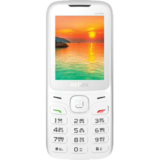 Intex Ultra 3000 (White-Orange)