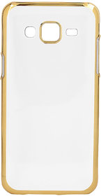 Soft Gold Plated Back Cover for Lenovo A6000 Plus