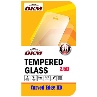 2.5D Curved Edge HD Tempered Glass for Lava V2S