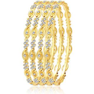 Sukkhi Lavish Gold Plated AD Bangle For Women