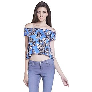 Globus WomenS Blue Colored Top