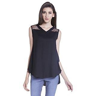 Globus WomenS Black Colored Top