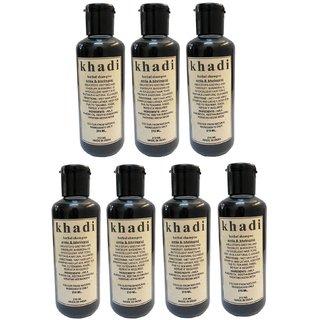 Khadi Herbal Amla  Bhringraj Shampoo Set of 7 pcs 1470ml