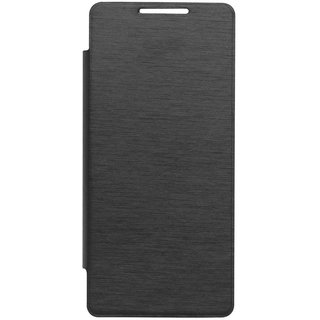 Hi Grade Black Flip Cover for Lava Iris X3