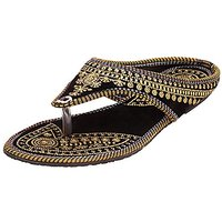 Womans Ethnic And Fashion Wedges Heel Sandal Combo Pack