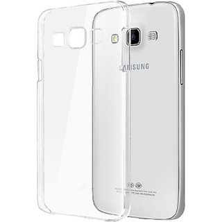 Successpath Back Cover for Samsung Galaxy J7  Transparent  White